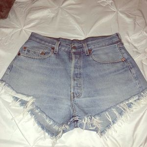 Levi's Shorts - Levi's 501 denim shorts